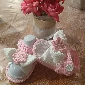 96343fdc1c925 Kids Baby Crochet Sandals on Poshmark